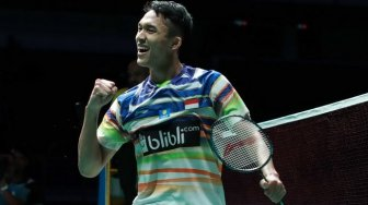 New Zealand Open: Lewati Laga Sengit, Jonatan Christie ke Perempat Final