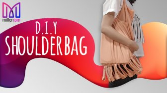 Bisa Dicontek, DIY Shoulder Bag Inspirasi dari Youtube Millenism