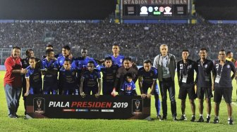 Link Live Streaming Arema FC Vs Sabah FA, Kick Off 18.30 WIB