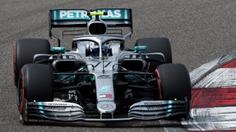 Ungguli Hamilton 0,023 Detik, Bottas Rebut Pole Position GP China