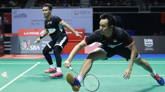 Lewati Laga Sengit, Hendra/Ahsan ke Final New Zealand Open 2019