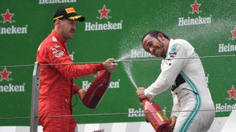 Mercedes Dominan, Lewis Hamilton Juara F1 GP China 2019