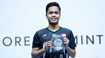 Jadi Runner-up di Singapore Open, Anthony Akui Kurang Lihai di Poin Kritis