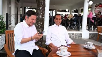 Gading Marten Ngopi Bareng Jokowi, Gempi : We Love You Jokowi
