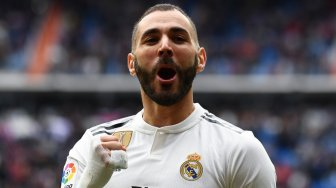 Hat-trick Karim Benzema Bawa Real Madrid Hajar Athletic Bilbao