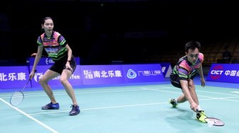 Sudirman Cup 2019: Hafiz / Gloria Kalah, Indonesia Tertinggal