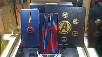 Oppo F11 Pro Avengers Limited Edition Resmi Meluncur di Indonesia