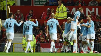 Manchester City Permalukan Manchester United di Old Trafford