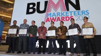 PLN Group Sabet 10 Penghargaan BUMN Marketeers Awards 2019