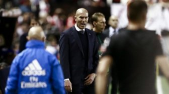Real Madrid Dibungkam Rayo Vallecano, Zidane Gusar