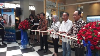 Waskita Launching Show Unit Solterra Place Tower 2 di Citos