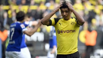 Dortmund Tegaskan Sancho Not for Sale, Manchester United Gigit Jari