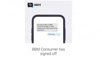 RIP Blackberry Messenger!