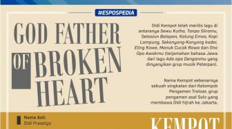 Didi Kempot God Father of Broken Heart, Setuju?