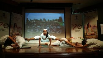 Helatan Akbar International Day of Yoga Siap Digelar 23 Juni Mendatang