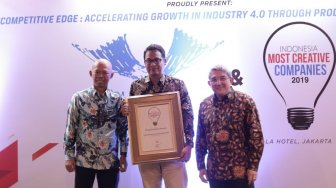 Pupuk Indonesia Raih Penghargaan Indonesia Most Creative Company 2019