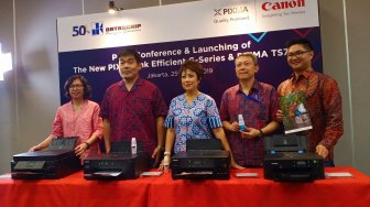 Datascrip Perbarui Jajaran Printer Canon Pixma Ink Efficient G-Series
