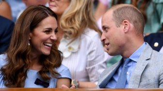 Ini Momen Romantis Pangeran William dan Kate Middleton di Wimbledon 2019