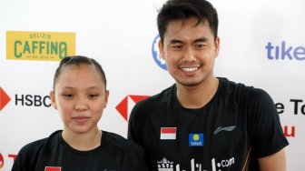 Tekuk Wakil Thailand, Tontowi/Winny ke Perempat Final Indonesia Open 2019