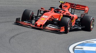 Duo Ferrari Dominasi Latihan Bebas F1 GP Jerman