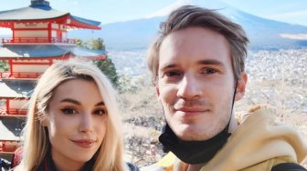 Begini Wujud Gaun Pengantin Marzia Bisognin, Istri PewDiePie