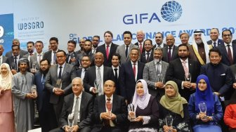 Baznas Raih Global Islamic Finance Award 2019 di Afrika Selatan