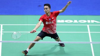 Tuntaskan Dendam, Anthony Ginting ke Semifinal China Open 2019