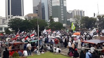 Orator Aksi Mujahid 212: Tak Salah STM Turun ke Jalan, Itu Bagus