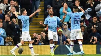 Hadapi Real Madrid, Manchester City Kembali Diperkuat Raheem Sterling