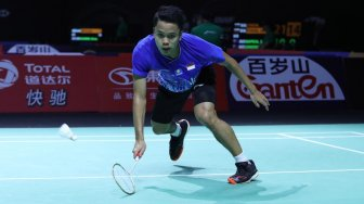 Fuzhou China Open: Anthony Hattrick Beruntun Kalah dari Tunggal Hong Kong