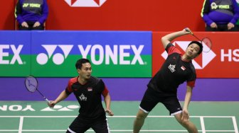 Link Live Streaming Final Hong Kong Open 2019: 2 Wakil Indonesia Tanding