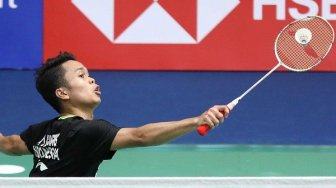 Nyesek! Anthony Ginting Kalah di Final Hong Kong Open 2019