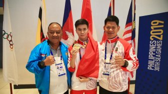 Okto Optimis dengan Pergerakan Medali Emas Indonesia di SEA Games 2019