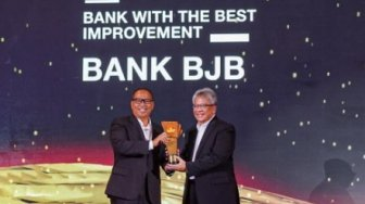 Bank BJB Raih Penghargaan CNBC Indonesia Award 2019