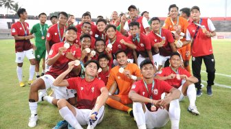 Indonesia All Stars U-20 Rebut Tempat Ketiga U-20 International Cup 2019