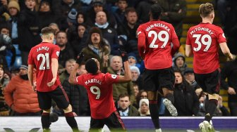 Manchester United Bungkam Manchester City 2-1