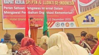 SPI PTN dan LLDKTI se-Indonesia Rapat Kerja di Padang