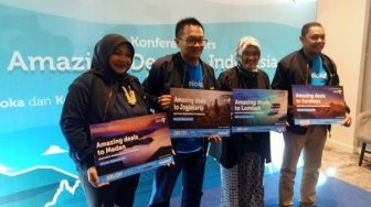 Traveloka Dorong Kunjungan Wisatawan Asing Amazing Deals to Indonesia