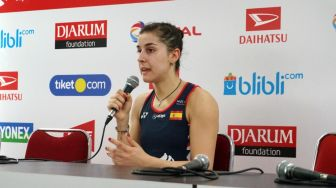 Move On dari Cedera, Carolina Marin Siap Rebut Gelar Indonesia Masters 2020