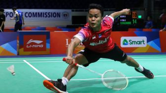 Anthony Ginting dan The Minions Menang, Indonesia Ungguli Korsel 2-0