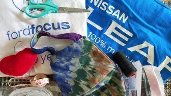 Cara Mudah Bikin Masker Kain Sendiri, Pilih Model Dijahit atau Tidak