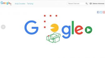 Stay at Home, Google Doodle Hari Ini Tampilkan Game Pac-Man