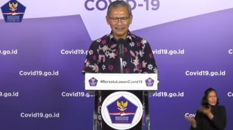 LIVE STREAMING: Update Covid-19 Minggu, 10 Mei 2020
