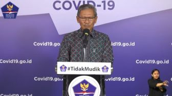 LIVE STREAMING: Update Covid-19 Rabu, 27 Mei 2020