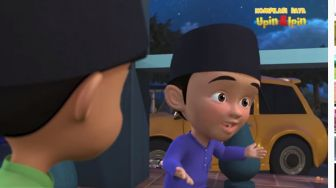 Lontarkan Dark Joke di Serial Upin Ipin, Fizi Jadi Trending Topic Indonesia