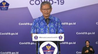 LIVE STREAMING: Update Covid-19 Jumat, 29 Mei 2020