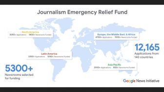 Google News Initiative: Lebih dari 5.300 Media Dapat Journalism Emergency Relief Fund