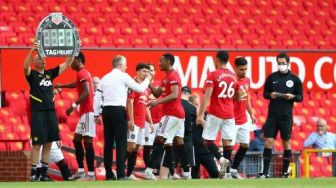 Anthony Martial Hattrick, Manchester United Lumat Sheffield di Old Trafford