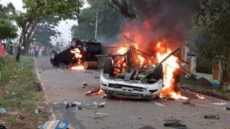 Pasca Kericuhan Madina, Polisi Tangkap 9 Warga Terduga Pelaku Pembakaran