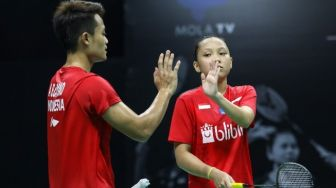Menangi Laga Perdana, Akbar / Winny ke Perempat Final PBSI Home Tournament